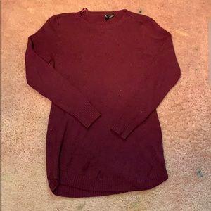 NWOT-Burgundy Sweater